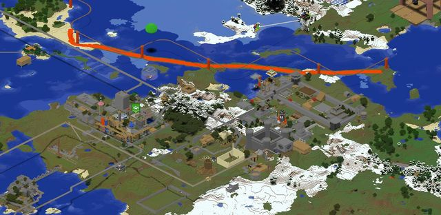 Map view of Emucraft, showing http://minecraftonline.com/cgi-bin/getplayerhead.sh?AgentMuu&16.png AgentMuu's lava moat set up to guard the Isle of Muu from encroachment